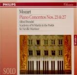 MOZART - Brendel - Concerto pour piano et orchestre n°23 en la majeur K