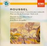 ROUSSEL - Laval - Concerto pour piano op.36