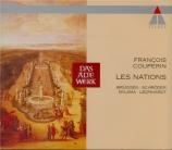 COUPERIN - Brüggen - Les nations : premier ordre 'La françoise'