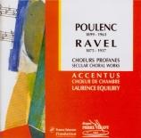 POULENC - Equilbey - Huit chansons françaises, pour chœur mixte et chœur