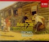 BARTOK - Béroff - Sept danses folkloriques roumaines, pour petit orchest