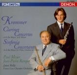 KROMMER - Meyer - Concerto pour clarinette en mi bémol majeur op.36 import Japon