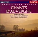 CANTELOUBE DE MALARET - Martin - Chants d'Auvergne