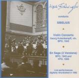 SIBELIUS - Furtwängler - Concerto pour violon et orchestre op.47