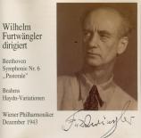 BEETHOVEN - Furtwängler - Symphonie n°6 op.68 'Pastorale'