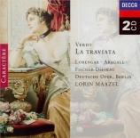 VERDI - Maazel - La traviata, opéra en trois actes