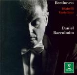 BEETHOVEN - Barenboim - Variations Diabelli, trente-trois variations pou