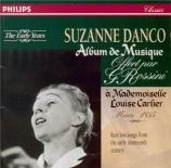 Album de musique offert par Rossini à Louise Carlier