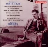 BRITTEN - Hickox - The young person's guide to the orchestra, pour (narr