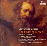 GOEHR - Cleobury - The Death of Moses op.53