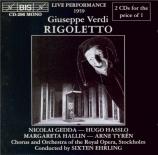 VERDI - Ehrling - Rigoletto, opéra en trois actes (live 18 - 1 - 1959) live 18 - 1 - 1959