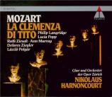 MOZART - Harnoncourt - La clemenza di Tito (La clémence de Titus), opéra