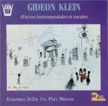 KLEIN - Méfano - Sonate pour piano