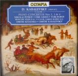 KABALEVSKI - Gilels - Concerto pour piano n°3 op.50 (Vol.4) Vol.4