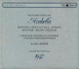 STRAUSS - Böhm - Arabella, opéra op.79 (Live Salzburg, 12 - 8 - 1947) Live Salzburg, 12 - 8 - 1947
