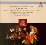 MONTEVERDI - Jürgens - Madrigaux