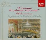 L'Opéra italien chanté en français (extraits)