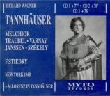 WAGNER - Stiedry - Tannhäuser WWV.70 (Live, MET 6 - 3 - 1948) Live, MET 6 - 3 - 1948