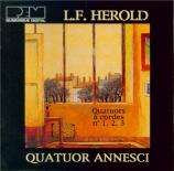 HEROLD - Quatuor Annesci - Quatuor à cordes n°1
