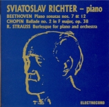 BEETHOVEN - Richter - Sonate pour piano n°7 op.10 n°3