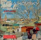TCHAIKOVSKY - Svetlanov - Suite pour orchestre n°3 en sol majeur op.55