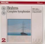 BRAHMS - Sawallisch - Symphonies (intégrale)