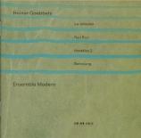 GOEBBELS - Ensemble Modern - La jalousie