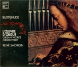 BUXTEHUDE - Saorgin - Oeuvres pour orgue (intégrale)