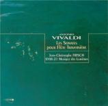 VIVALDI - Frisch - Sonate pour flûte à bec et b.c. en fa majeur RV.52