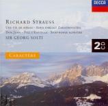 STRAUSS - Solti - Ein Heldenleben, poème symphonique pour grand orchestr