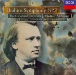 BRAHMS - Ashkenazy - Symphonie n°2 pour orchestre en ré majeur op.73