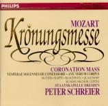 MOZART - Schreier - Messe en do majeur, pour solistes, chœur, orgue et o