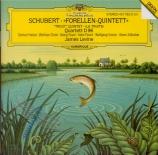 SCHUBERT - Levine - Quintette avec piano en la majeur op.posth.114 D.667