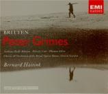 BRITTEN - Haitink - Peter Grimes, opéra op.33