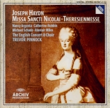 HAYDN - Pinnock - Theresienmesse, pour solistes, choeur mixte, orchestre
