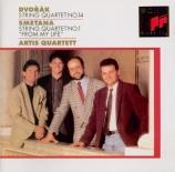 DVORAK - Artis Quartet - Quatuor à cordes n°14 op.105