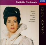 Airs de Rossini, Verdi, Bellini, Bizet...