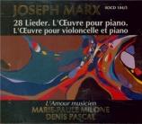 MARX - Milone - Lieder