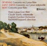 DEVIENNE - Graf - Concerto pour flûte n°2 en ré majeur