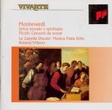 MONTEVERDI - Wilson - Selva morale e spirituale : extraits