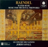 HAENDEL - Savall - Water Music HWV.348-350