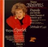 BRAHMS - Hager - Rhapsodie (Goethe), mélodie pour alto et chœur masculin