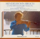 MENDELSSOHN-BARTHOLDY - Wallez - Concerto pour violon et orchestre en mi
