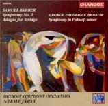 BARBER - Järvi - Symphonie n°2 op.19