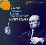 HAYDN - Reiner - Symphonie n°101 en ré majeur Hob.I:101 'The clock' (L'h