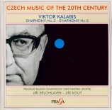 KALABIS - Warchal - Symphonie n°3 op.33