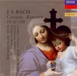 BACH - Münchinger - Ein feste Burg ist unser Gott, cantate pour solistes