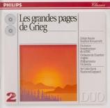 Les grandes pages de Grieg