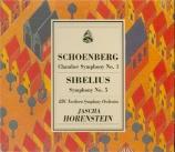 SCHOENBERG - Horenstein - Symphonie de chambre n°1 op.9