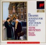 BRAHMS - Bronfman - Sonate pour violon et piano n°1 en sol majeur op.78